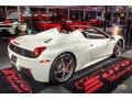 Ferrari 458 Spider Bianco Avus (White) photo #7