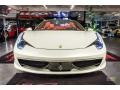 Ferrari 458 Spider Bianco Avus (White) photo #17