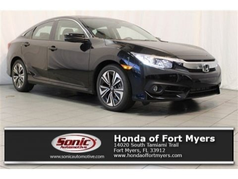 Crystal Black Pearl 2017 Honda Civic EX-T Sedan