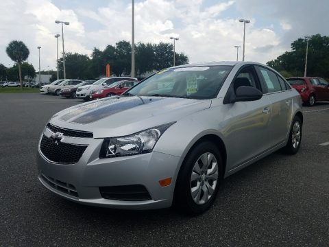 Silver Ice Metallic 2012 Chevrolet Cruze LS