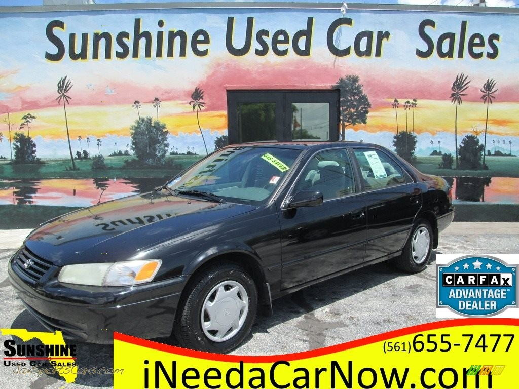 1998 Camry LE - Black / Gray photo #1