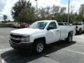 Chevrolet Silverado 1500 WT Regular Cab Summit White photo #1