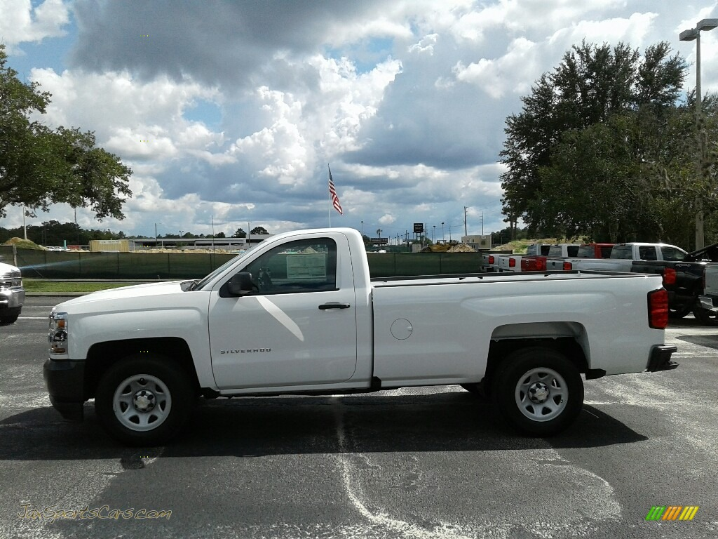 2018 Silverado 1500 WT Regular Cab - Summit White / Dark Ash/Jet Black photo #2