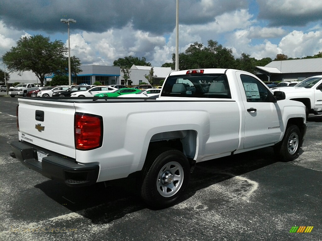 2018 Silverado 1500 WT Regular Cab - Summit White / Dark Ash/Jet Black photo #5