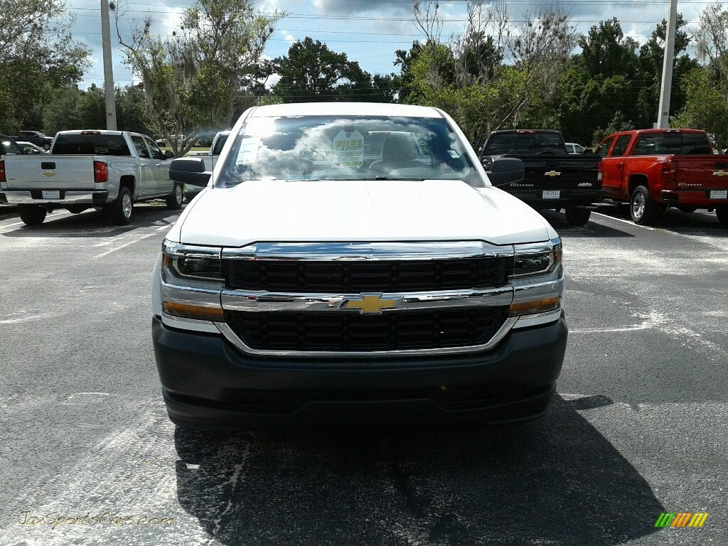 2018 Silverado 1500 WT Regular Cab - Summit White / Dark Ash/Jet Black photo #8