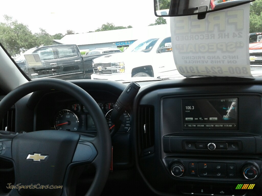 2018 Silverado 1500 WT Regular Cab - Summit White / Dark Ash/Jet Black photo #13