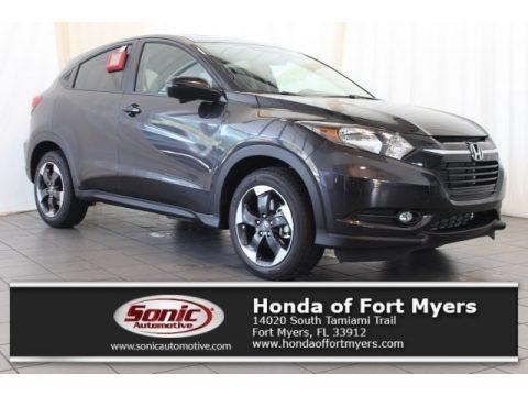 Forest Mist Metallic 2018 Honda HR-V EX