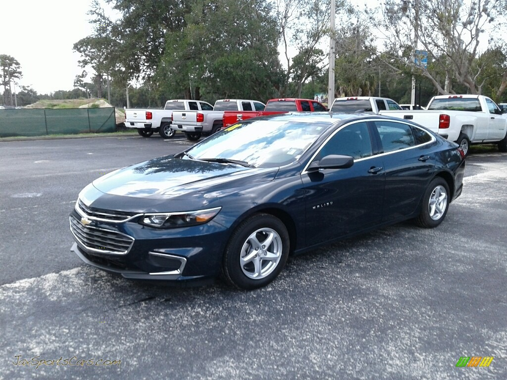 Blue Velvet Metallic / Jet Black Chevrolet Malibu LS