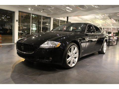 Nero (Black) 2010 Maserati Quattroporte