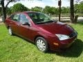 Ford Focus ZX4 S Sedan Dark Toreador Red Metallic photo #1