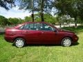 Ford Focus ZX4 S Sedan Dark Toreador Red Metallic photo #3