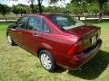 Ford Focus ZX4 S Sedan Dark Toreador Red Metallic photo #5