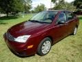 Ford Focus ZX4 S Sedan Dark Toreador Red Metallic photo #9