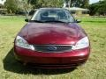 Ford Focus ZX4 S Sedan Dark Toreador Red Metallic photo #11
