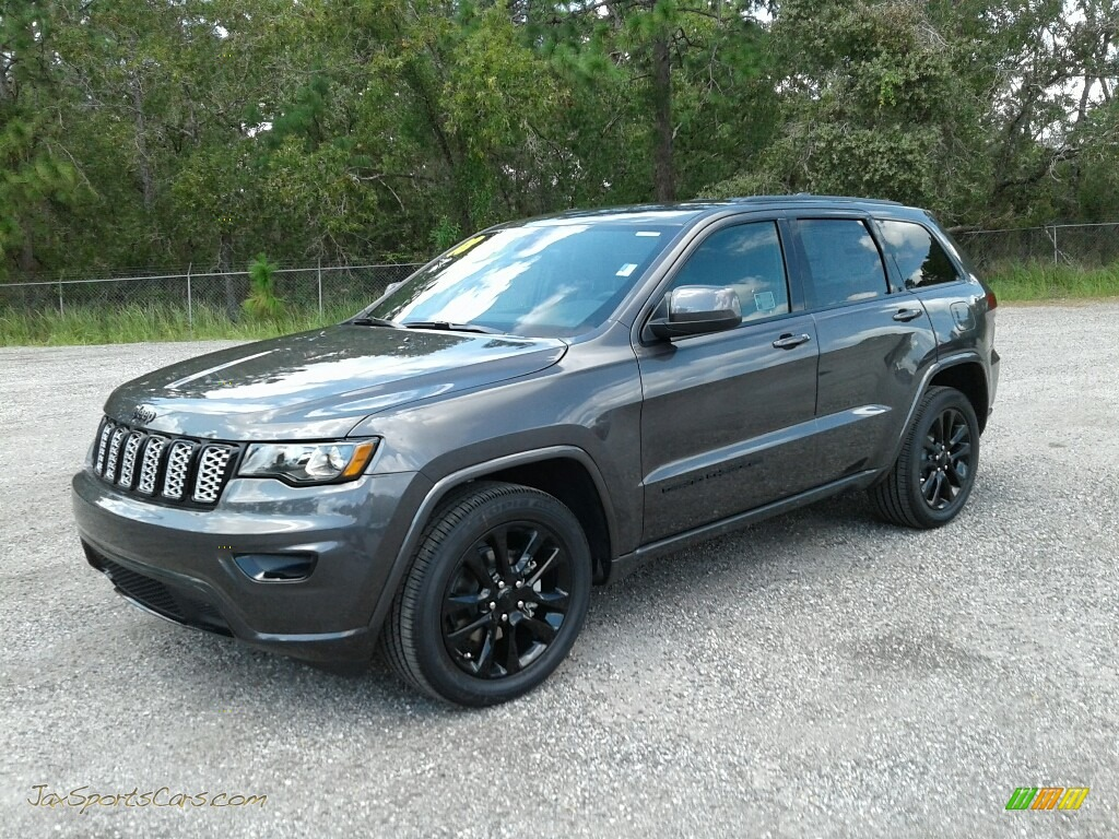 2018 jeep grand cherokee altitude in granite crystal metallic 125706 jax sports cars cars. Black Bedroom Furniture Sets. Home Design Ideas