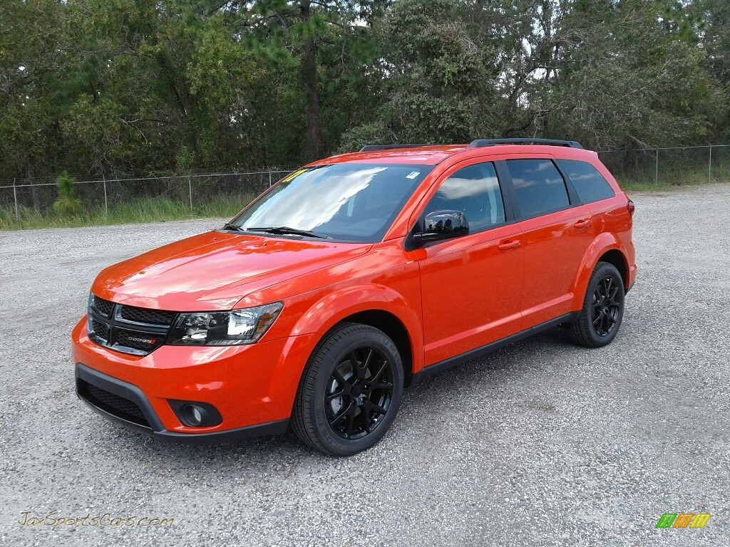 Blood Orange / Black Dodge Journey SXT