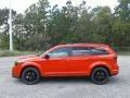 Dodge Journey SXT Blood Orange photo #2