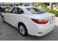 Lexus ES 300h Hybrid Starfire White Pearl photo #6