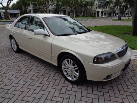 Ivory Parchment Metallic 2003 Lincoln LS V8