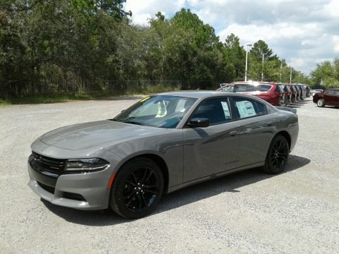 Destroyer Gray 2018 Dodge Charger SXT