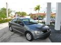 Volkswagen Jetta S Sedan Platinum Gray Metallic photo #1