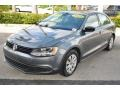 Volkswagen Jetta S Sedan Platinum Gray Metallic photo #4