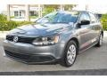 Volkswagen Jetta S Sedan Platinum Gray Metallic photo #5