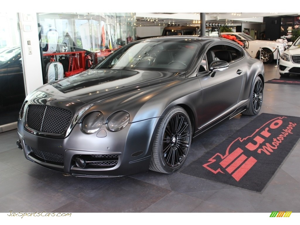Diamond Black / Beluga Bentley Continental GT