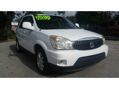 Frost White 2007 Buick Rendezvous CX
