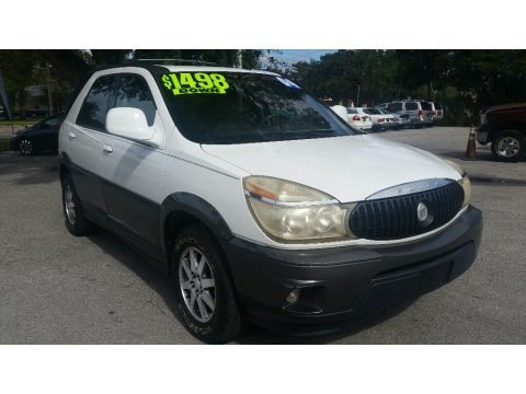 Olympic White 2004 Buick Rendezvous CXL