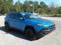 Jeep Cherokee Trailhawk 4x4 Hydro Blue Pearl photo #7