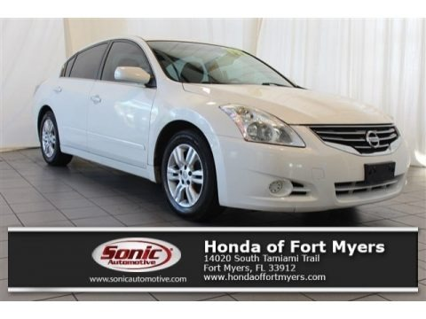 Winter Frost White 2012 Nissan Altima 2.5 S