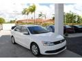 Volkswagen Jetta SE Sedan Candy White photo #1