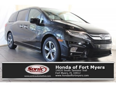 Crystal Black Pearl 2018 Honda Odyssey Touring