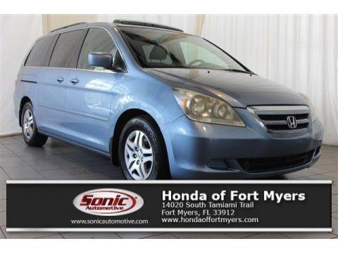 Midnight Blue Pearl 2007 Honda Odyssey EX-L