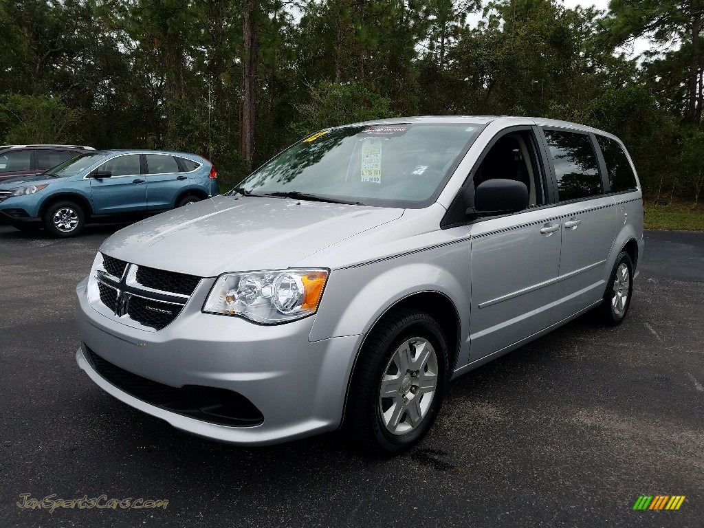 2012 Grand Caravan SE - Bright Silver Metallic / Black/Light Graystone photo #1