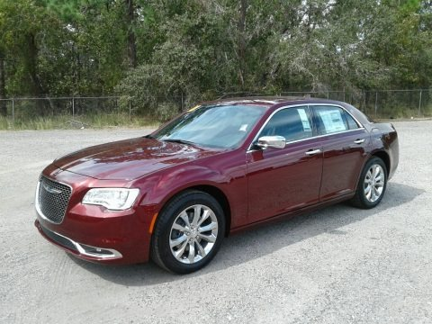 Velvet Red Pearl 2018 Chrysler 300 Limited AWD