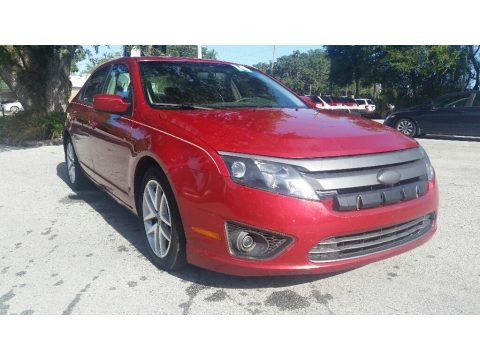 Red Candy Metallic 2010 Ford Fusion SEL
