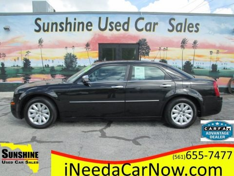 Brilliant Black Crystal Pearl 2008 Chrysler 300 LX