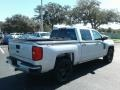 Chevrolet Silverado 1500 Custom Crew Cab 4x4 Silver Ice Metallic photo #5