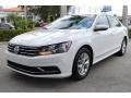 Volkswagen Passat S Sedan Pure White photo #5