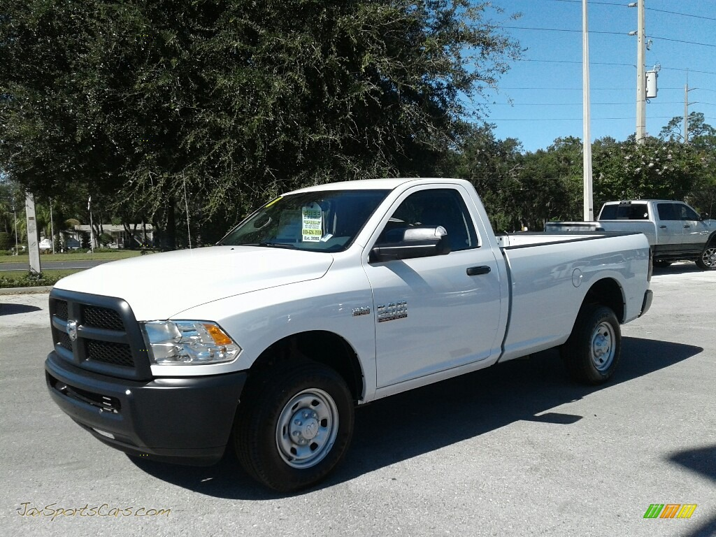 2018 2500 Tradesman Regular Cab - Bright White / Black/Diesel Gray photo #1