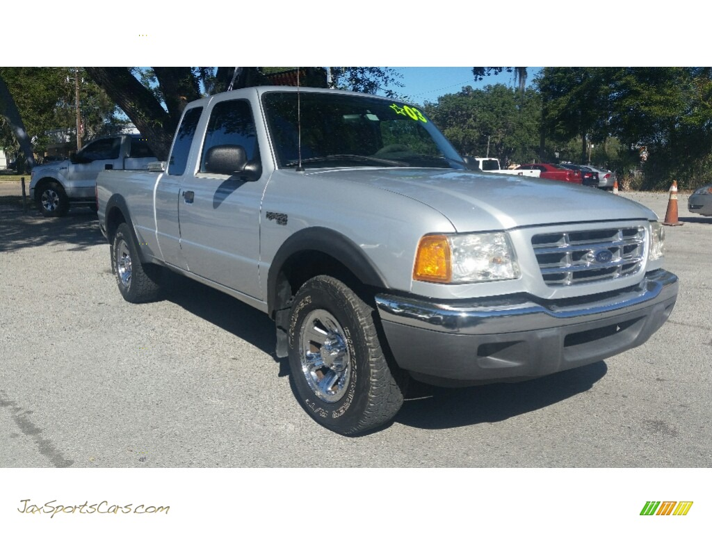 2003 Ranger Edge SuperCab - Oxford White / Dark Graphite photo #1