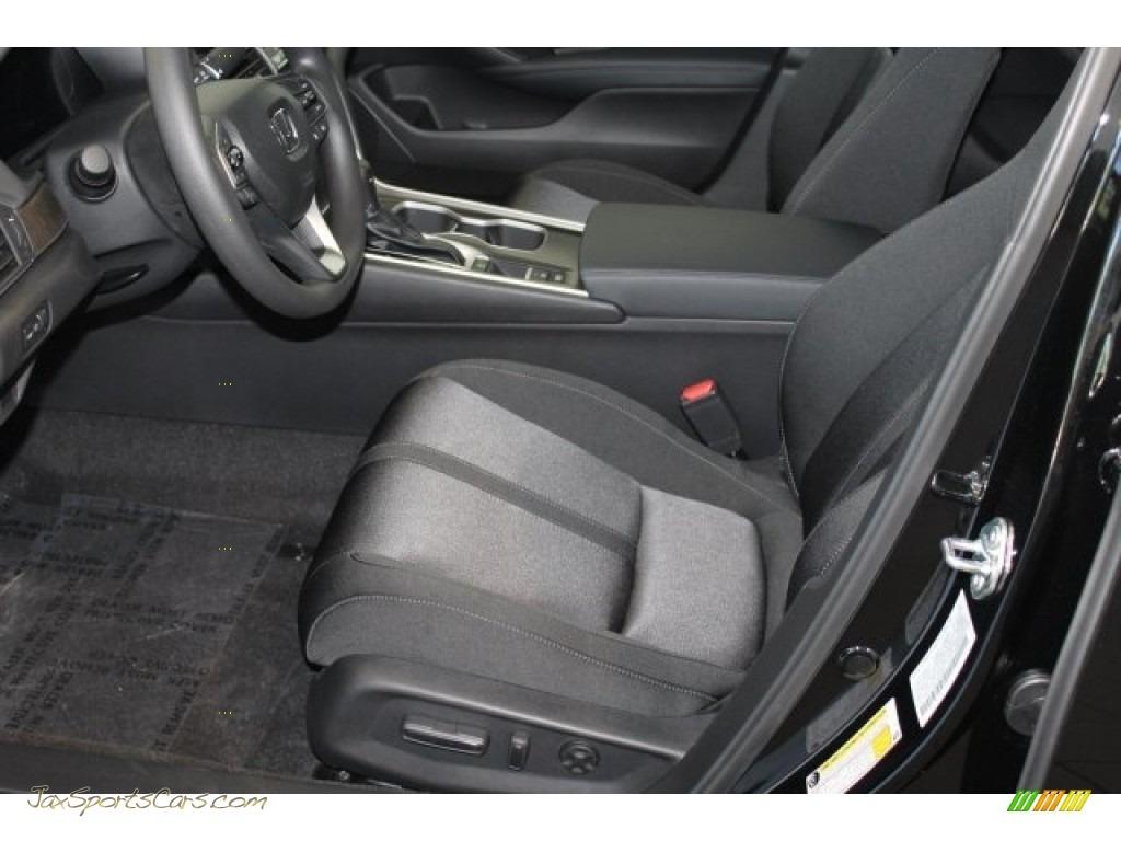 2018 Accord EX Sedan - Crystal Black Pearl / Black photo #11