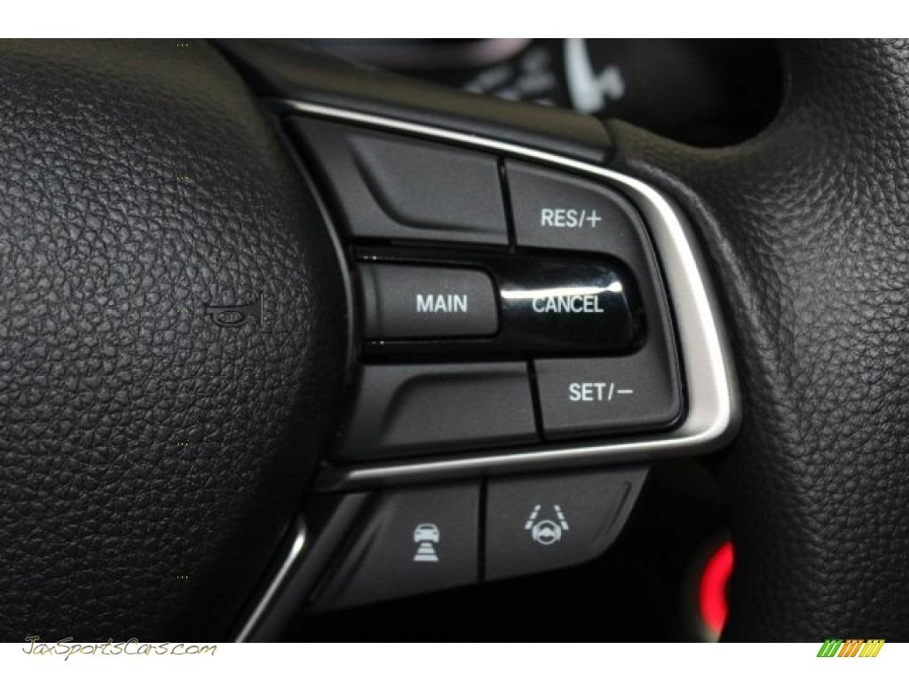 2018 Accord EX Sedan - Crystal Black Pearl / Black photo #14