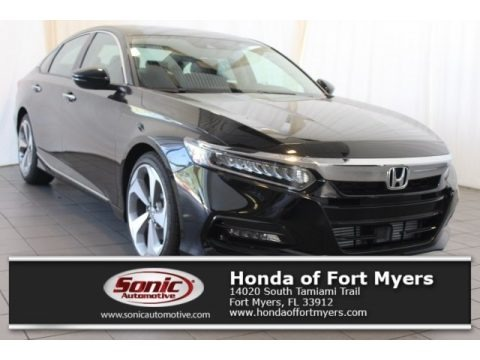 Crystal Black Pearl 2018 Honda Accord Touring Sedan