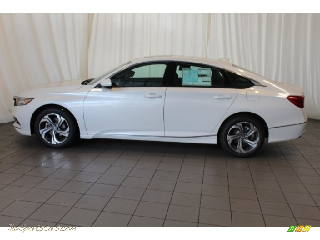 2018 Accord EX Sedan - Platinum White Pearl / Black photo #5
