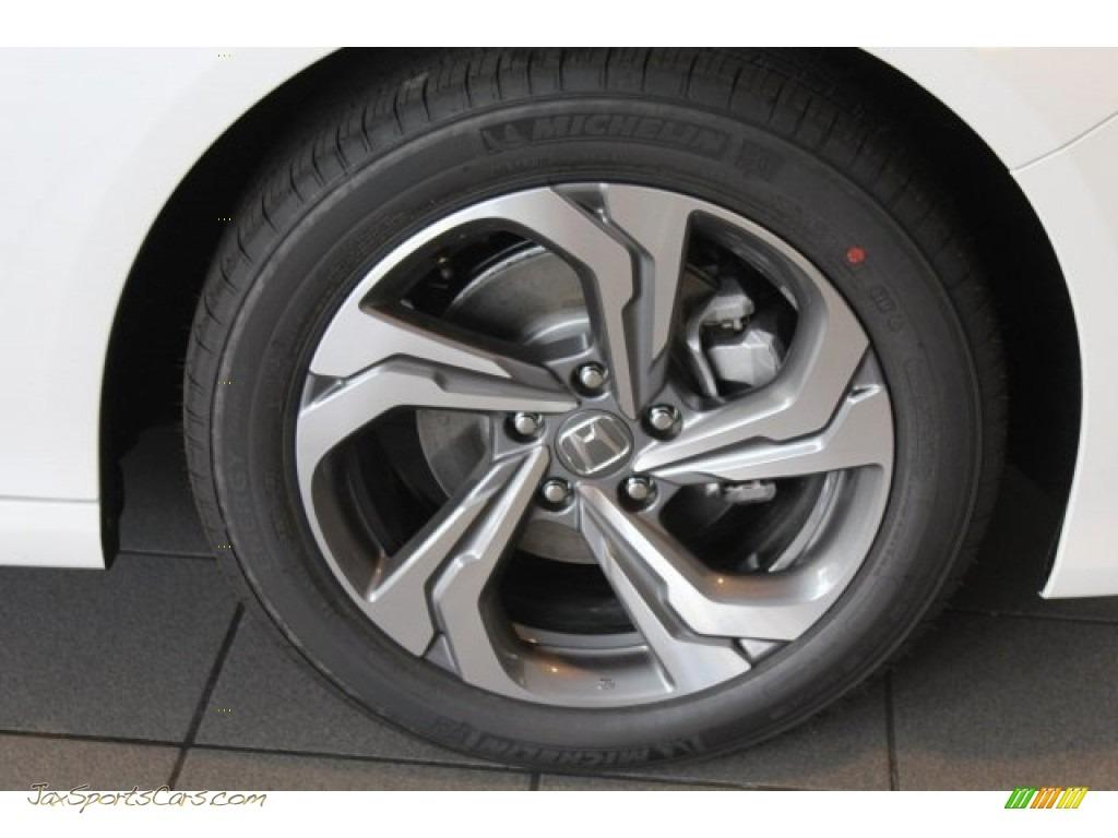 2018 Accord EX Sedan - Platinum White Pearl / Black photo #8