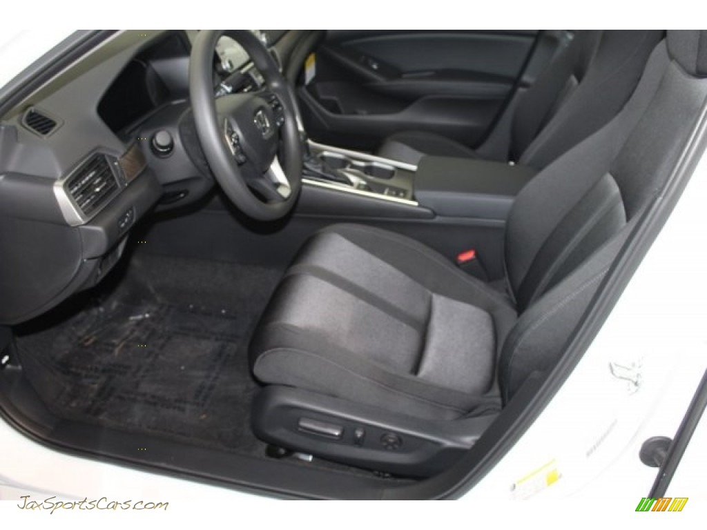 2018 Accord EX Sedan - Platinum White Pearl / Black photo #11