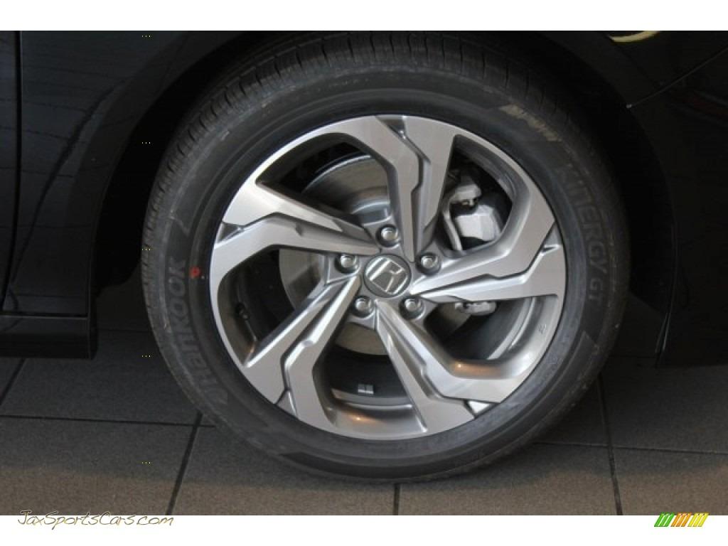 2018 Accord EX-L Sedan - Crystal Black Pearl / Black photo #8